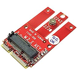 Ableconn MPEX-M2WL PCIe and USB Based M.2 Wireless Module to miniPCIe Adapter