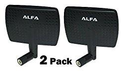 Alfa 2.4HGz 7dBi RP-SMA Panel Screw-On Swivel Antenna for Alfa – WUS036H, WUS036H1W, AWUS036EAC, WUS036NH, WUS036NEH, WUS048NH, AWUS036AC, WUS051NH