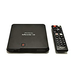 AVerMedia EzRecorder, HD Video Capture High Definition HDMI Recorder, PVR, DVR, Schedule Recording (ER130)