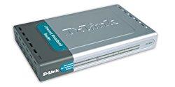 D-Link  DI-704P  4-port 10BaseT/100BaseTX Broadband Gateway with Print Server