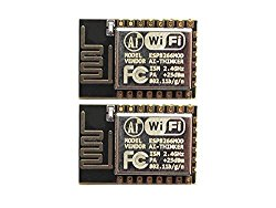 Esp8266 Esp-12e Serial Wifi Wireless Transceiver Module for Arduino UNO 2560 R3(Pack of 2) by IFANCY-TECH