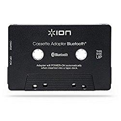 ION Audio Cassette Adapter Bluetooth | Bluetooth Music Receiver for Cassette Decks