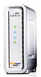 Next-Generation ARRIS SURFboard SB8200 DOCSIS 3.1 Cable Modem – Retail Packaging- White