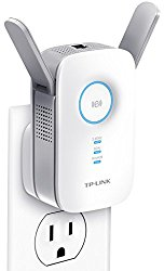 TP-Link AC1200 Wi-Fi Range Extender w/ Gigabit Ethernet Port, Small Footprint w/ Intelligent Signal LED Ring, (RE350)