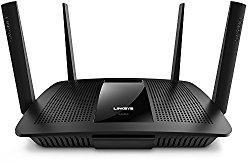 Linksys AC2600 Dual Band Wireless Router MU-MIMO, Works with Amazon Alexa (Max Stream EA8500)