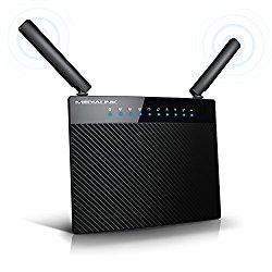 Medialink AC1200 Wireless Gigabit Router – Gigabit (1000 Mbps) Wired Speed & AC 1200 Mbps Combined Wireless Speed (Part# MLWR-AC1200 )
