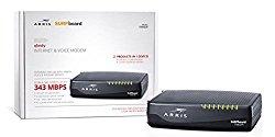ARRIS SURFboard TM822R Docsis 3.0 Cable Modem/ 2-Voice Lines for Comcast Xfinity- Retail Packaging- black