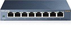 TP-Link 8-Port Gigabit Ethernet Steel Network Switch | Unmanaged (TL-SG108)
