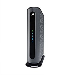 Motorola Ultra Fast DOCSIS 3.1 Cable Modem, Model MB8600, plus 32×8 DOCSIS 3.0, Certified by Comcast XFINITY