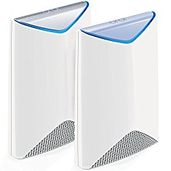 Orbi Pro by NETGEAR – AC3000 Tri-band WiFi System for Business 2-Pack | Covers up to 5,000 sqft | Replaces Access Points | No complicated wiring | Business Traffic & Network Separation (SRK60)