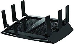 NETGEAR R7900-100NAS Nighthawk X6 AC3000 Smart Wi-Fi Router. Compatible with Amazon Echo/Alexa