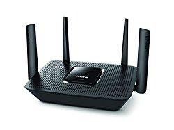 Linksys Max-Stream AC2200 MU-MIMO Tri-band Wireless Router, Works with Amazon Alexa (EA8300)