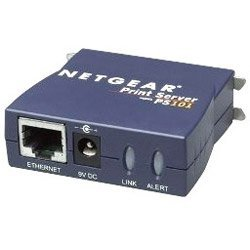 PS101NA – Netgear PS101 Print Server 1 x 10Base-T Network, 1 x Parallel – 10 Mbps, 20 Mbps, 1.50 Mbps