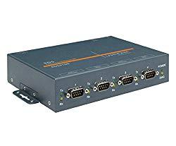 Lantronix EDS4100 4-Port Device Server with PoE – 4 x DB-9 , 1 x RJ-45
