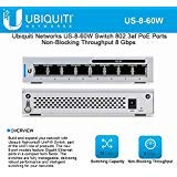 UniFi US-8-60W 8-Port Gigabit PoE Compliant Managed Switch
