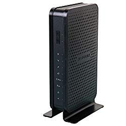 NETGEAR C3700-100NAR C3700-NAR DOCSIS 3.0 WiFi Cable Modem Router with N600 8×4 Download speeds for Xfinity from Comcast, Spectrum, Cox, Cablevision (Renewed)