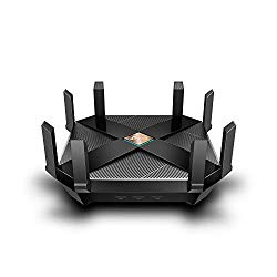 TP-Link WiFi 6 AX6000 8-Stream Smart WiFi Router – Next-Gen 802.11ax, 2.5G WAN Port, 8 Gigabit LAN Ports, MU-MIMO, 1.8GHz Quad-Core CPU, USB 3.0 Ports, Homecare Support(Archer AX6000)