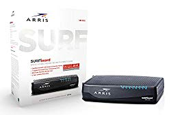 ARRIS Surfboard (32×8) Docsis 3.0 Cable Modem for Xfinity Internet & Voice (Model SBV3202)