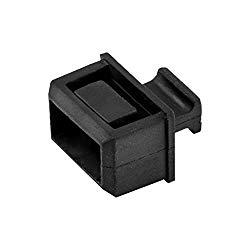 StarTech.com SFP Dust Cover – 10 Pack – Black – SFP Port Cover – Fiber Optic Dust Caps – SFP Plug – SFP Port Dust Cover – SFP Cover (SFPCAP10)