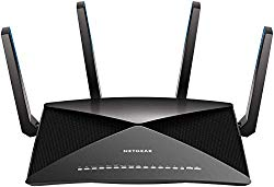 NETGEAR Nighthawk X10 AD7200 802.11ac/ad Quad-Stream WiFi Router, 1.7GHz Quad-core Processor, Plex Media Server, Compatible with Amazon Alexa (R9000) (Renewed)
