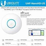 UniFi nanoHD UAP-nanoHD-US Compact Dual Band Wave2 Enterprise Wi-Fi 4×4 MIMO 1730 Mbps