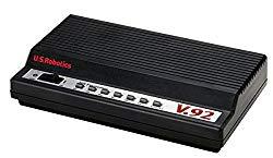US Robotics V.92 USR5686E External Modem + Fax, 56K