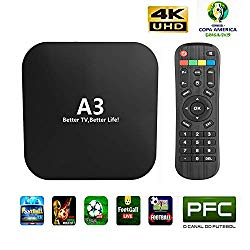 IPTV Brazil 2019 Newest A3 Box Based on A2 Brazilian Better Than HTV 5 6 IPTV8 5 6 Plus Newest Upgraded Brazil Box with 250 Live Brazilian Channels and Massive Movies Dramas Films