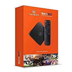 VANKYO MatrixBox X95A 4K Android TV Box, Ultra HD 2GB RAM 16GB ROM TV Streaming Player w/Amlogic S905W 64 Bits Quad Core Processor